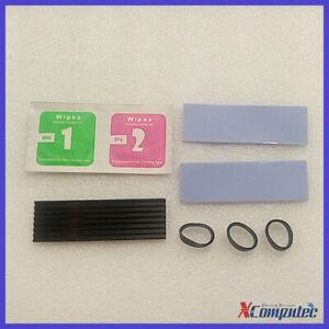 Cooling Heatsink for M.2 SSD SATA NVMe NGFF 2280 Drive 70*22*3mm Heat sink Black