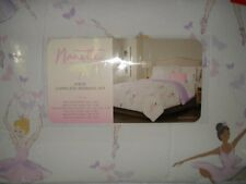 New Nanette Lepore 7-piece Twin Comforter Set Ballerina Butterfly - Ballet