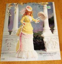 Paradise Publications: 1885 Countryside Attire Fashion Doll Crochet #P-024 Vol13