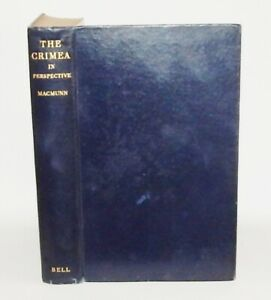 1935 MacMunn THE CRIMEA IN PERSPECTIVE 1st Edn ILLUSTRATED Maps NICE COPY