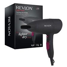 Revlon RVDR 5823uk potente 2000w compatto e leggero ASCIUGACAPELLI NERA-NUOVA