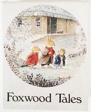 NIB vintage FOXWOOD TALES by CYNTHIA & BRIAN PATERSON 50 pc ROUND jigsaw PUZZLE