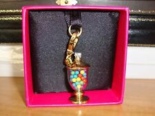 NWT JUICY COUTURE CANDY JAR CHARM FOR BRACELET/NECKLACE