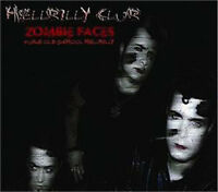 HELLBILLY CLUB Zombie Faces CD - Psychobilly Garage Neo-Rockabilly - NEW Sealed