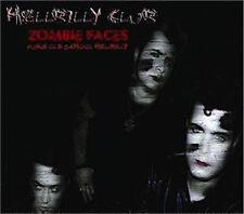 HELLBILLY CLUB Zombie Faces CD - Psychobilly Garage Neo-Rockabilly - NEW Sealed