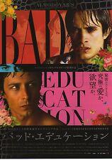 Bad Education - Original Japanese Chirashi Mini Poster style B -Almodovar