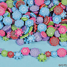 40 Beautiful Flower Leaf Foam Beads Child Kid Craft