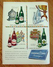 1948 Canada Dry Soda Pop Ad   Spur Hi-Spot