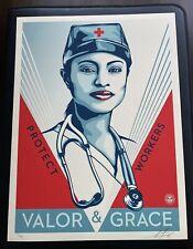 Valor and Grace Nurse - Shepard Fairey - Obey
