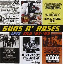 Guns N' Roses - Live Era '87-'93 - Guns N' Roses CD 3RVG The Cheap Fast Free