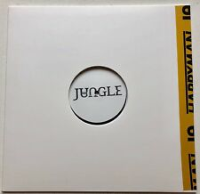 JUNGLE - HAPPY MAN / HOUSE IN LA STAMPED WHITE LABEL 100 ONLY 12'' TEST PRESSING