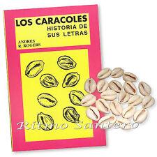 LOS CARACOLES Libro Historia de sus Letras Yoruba Ifa Santeria Orula Cuba 21