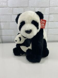 Gund Panda Bear plush NEW with Tag Ling Soo With Baby