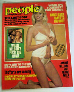 People With Pix Magazine, October 15 1980 - Willie Nelson - #M111