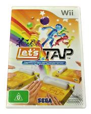 Let's Tap Wii Nintendo Wii PAL *Complete* Wii U Compatible