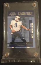 Steve McNair Tennessee Titans Season Ticket 2001 Playoff Contenders 94 Superbowl