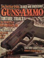 Guns & Ammo  March 2003, Springfields XD,  Tactical Shotgun Ammo