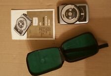 Vintage Sears Camera Photography Electronic Light Meter w/ Leather Case Rare