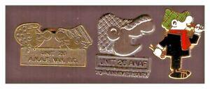 Andy Capp pins: 2 ANAF VAncouver; darts player