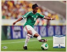 Giovani Dos Santos signed 11x14 Photo Autograph Mexico (C) ~ Beckett BAS COA