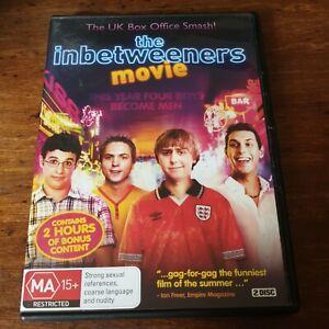 The Inbetweeners Movie DVD R4 Like New! FREE POST