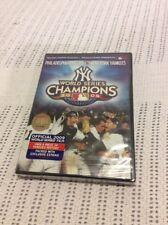 New York Yankees Vs. Phillies 2009 World Series Championship DVD/Brand New