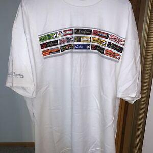Scotty Cameron Shaft Bands Tee T-Shirt XXXL 3X Unworn White