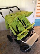 Easy Walker Duo Walker Double Stroller Lime Green