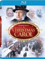 A Christmas Carol Blu-ray Disc 2010 George C. Scott As Scrooge Full Screen NEW