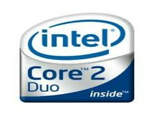 1 x Intel Core 2 Duo Inside Stickers Chrome 7 vinyl 10 8 Windows 20mmx16mm