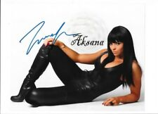AKSANA & CHRISTY HEMME WWE WRESTLERS 8 X 10 INCH AUTOGRAPHED PROMO PHOTOS