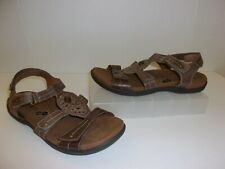 Cobb Hill Brown Leather Sandals Size 10 Shoes