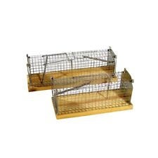 Rattenfalle Kastenfalle Rattenfallen 2 Einl. Lebendfalle Lebendfang