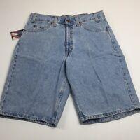 NWT Vintage LEVI'S 550 Orange Tab Mens 32 Relaxed Fit 11 Inch Denim Shorts