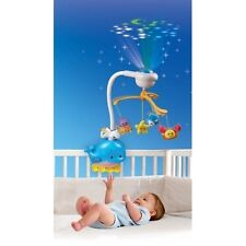 Baby Crib Projector Shooter Toy Soothing Slumber Light Music Sound Infant Mobile