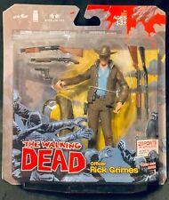 2011 THE WALKING DEAD RICK GRIMES FIGURE COMIC BOOK SERIES 1 MISP MCFARLANE