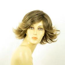 short wig for women brown wick golden ref JEANETTE 6t24b PERUK