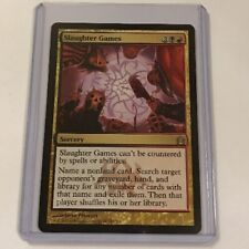 Magic the Gathering MTG Slaughter Games Rare Return to Ravnica Nr Mint