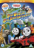 Thomas & Friends: Big World! Big Adventures! The Movie DVD (2018) David Stoten