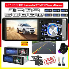 "4.1"" 1 DIN Android Bluetooth Autoradio Car Stereo FM AUX W/Remote USB MP5 Player"