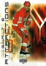 2001-02 Upper Deck Gate Attractions #12 Steve Yzerman