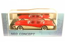 1 43 Neo Buick Centurion Xp-301 Concept car 1956 Red/creme