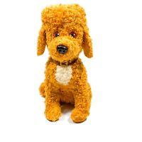 Disney Junior Fancy Nancy Frenchy Plush 11in Barking Poodle Stuffed Animal Dog