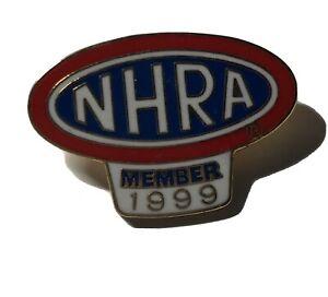 NHRA CHAMPIONSHIP DRAG RACING MEMBER HAT LAPEL PIN 1993