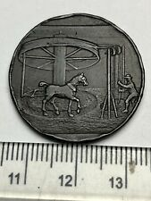 Rare 1797 Conder Token - Low Hall Colliery, Cumbria Hensingham, Finlay 27 (C541)