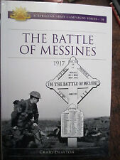 1917 Battle of Messines Australian  Army Campaign Series no18 book