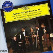 Brahms - Pno Qnt Op.34/Pollini/Qt Ital Gor (NEW CD)
