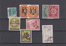 Berlin 1956 gest. kompl.ohne Dauerserie Michel 43.-