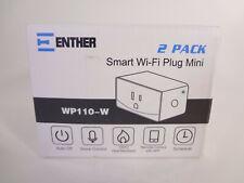 Enther 2 Pack Smart Wi-Fi Plug Mini Wp110-W {Eh_E}