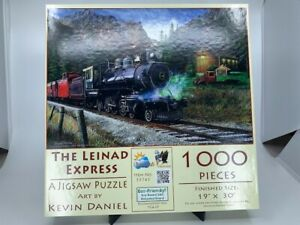 """SunsOut Puzzle 1000pcs Jigsaw - """"The Leinad Express"""" by Kevin Daniel - 19"""" x 30"""""""
